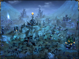 Unflurried routine in undead encampment.